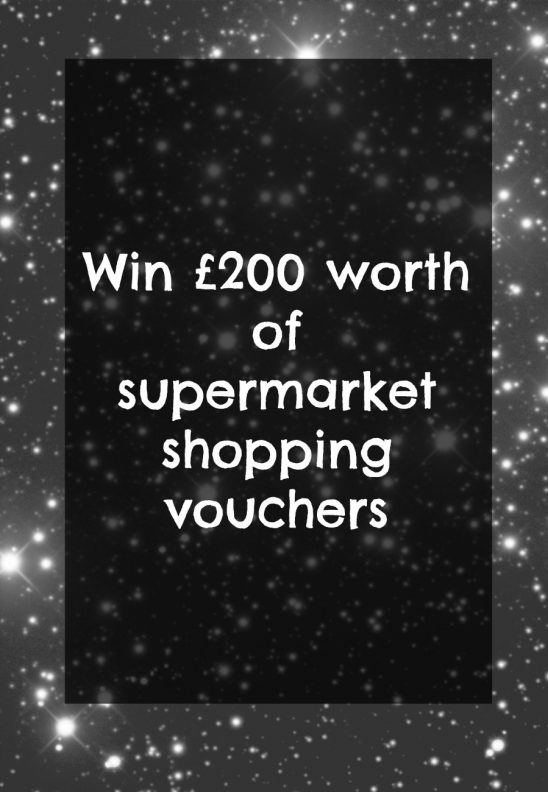 WIN £200 worth of supermarket shopping vouchers