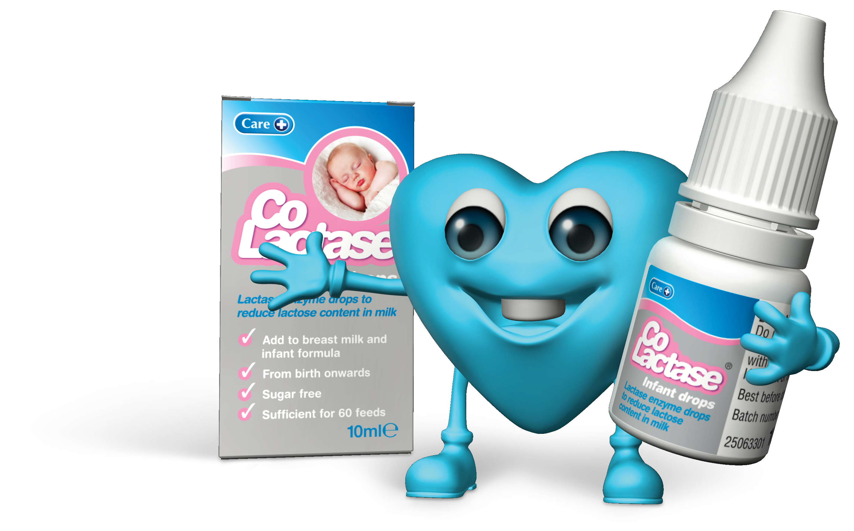 Care Heart CoLactase Pack