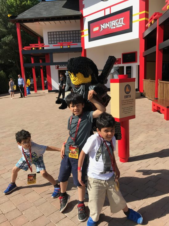 New LEGO Ninjago World at Legoland Windsor #NinjasInTraining