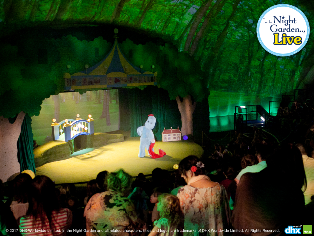 WIN A FAMILY TICKET TO THE IN THE NIGHT GARDEN LIVE SHOW!