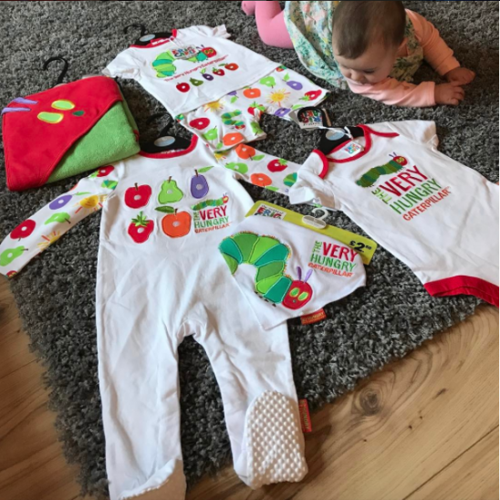 The Very Hungry Caterpillar Babywear Range from Tu at Sainsburys
