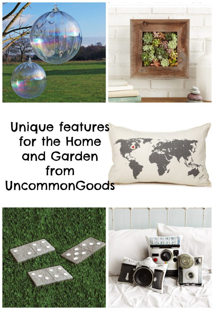 Uncommon Goods Unique features for the Home and Garden