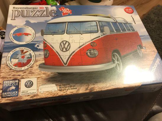 Ravensburger 3D Camper Van Puzzle
