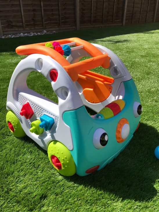 Infantino 3 in 1 Sensory Discovery Car Walker Review