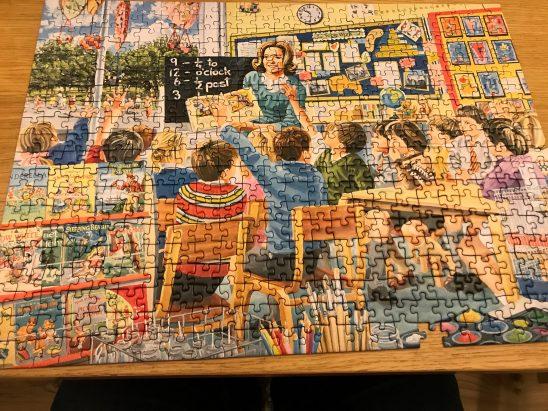 Ravensburger The Teacher 500 Piece Puzzle