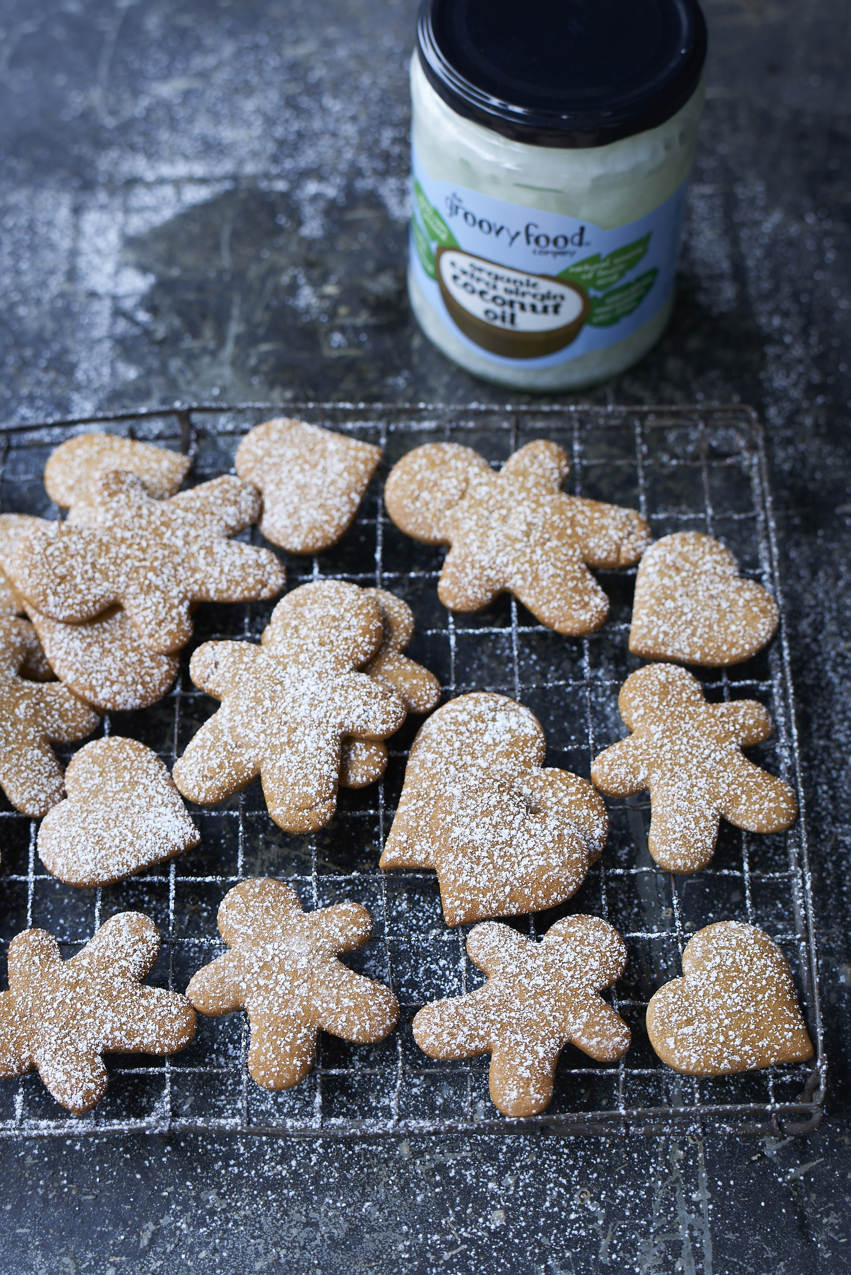 The Groovy Food Company - Ginger Christmas Biscuits