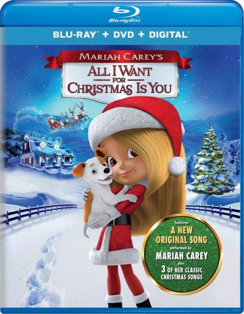 Mariah Carey's All I Want for Christmas Is You Movie and Activity Sheet Printable