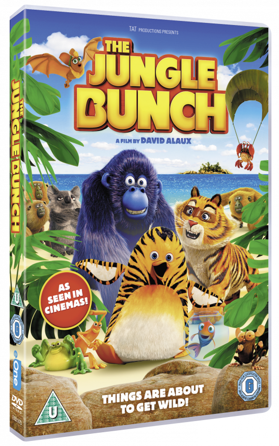 The Jungle Bunch Merchandise Giveaway