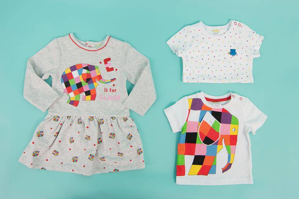 Elmer Clothing Range at Sainsburys