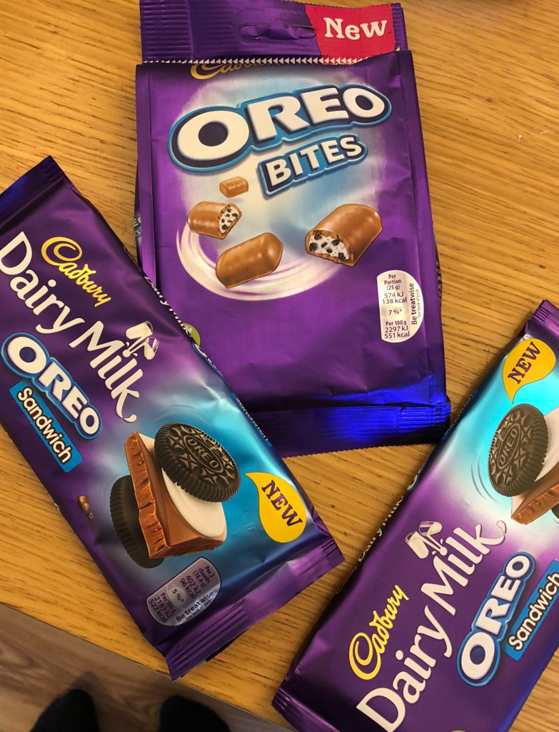 Two New Cadbury Oreo Chocolate Products!