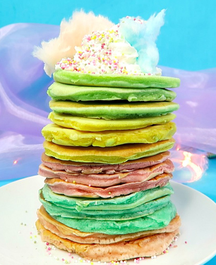 Unicorn Inspired Pancakes