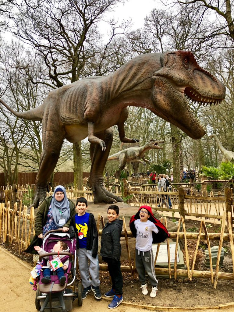New World of Dinosaurs at Paradise Wildlife Park