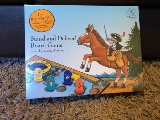 The Highway Rat Stand and Deliver Board Game Review & Giveaway