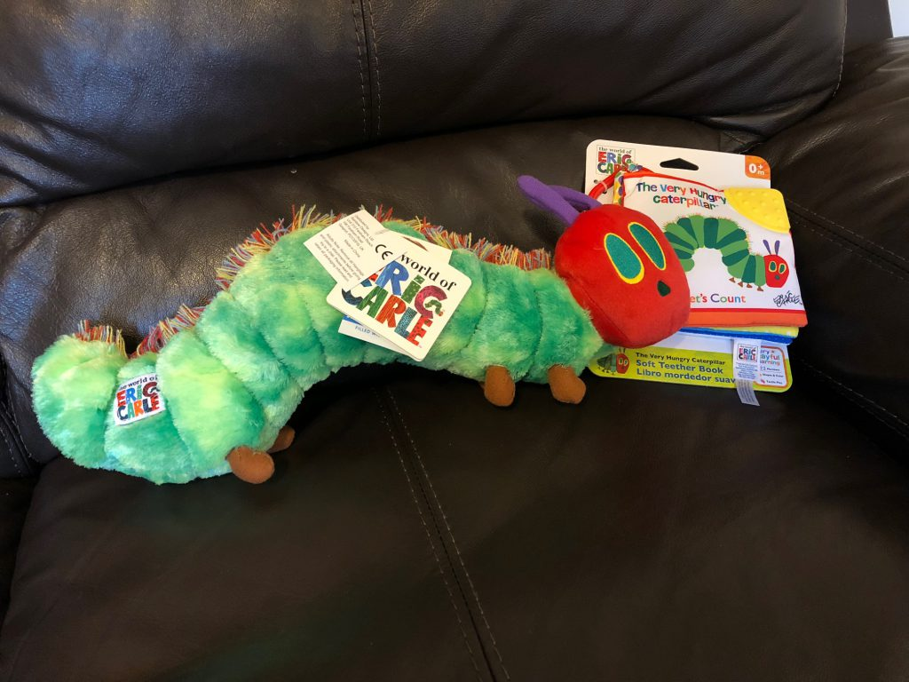 The Very Hungry Caterpillar from Rainbow Designs – Review and Giveaway
