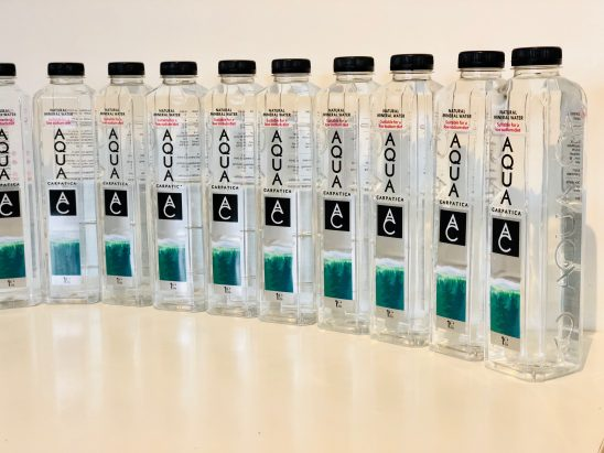 Keeping Hydrated with AQUA Carpatica Still Natural Mineral Water
