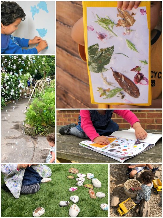 14 Simple Toddler Crafts and Activities with Supplies from Around the House