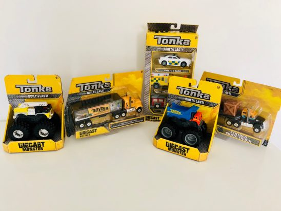Tonka Die Cast Review & Giveaway