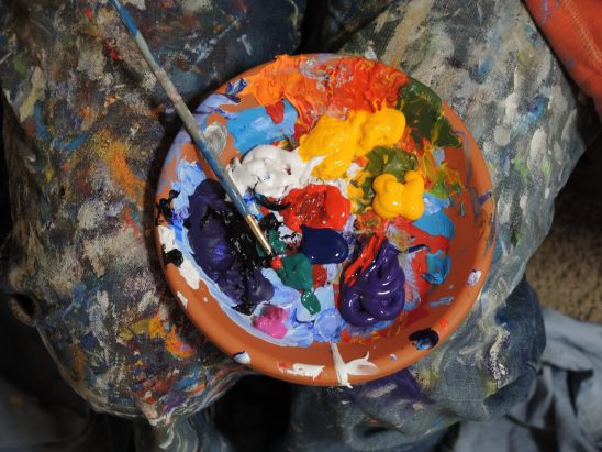 Three art projects for kids based on famous artists