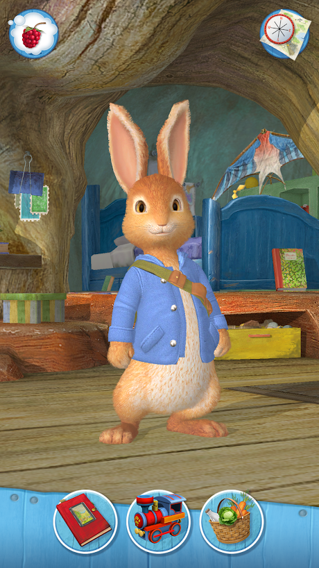 New Peter Rabbit: Let's Go! App