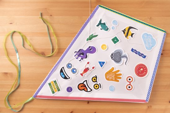 DIY Kids Kite Craft + Printables
