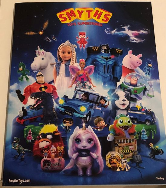 Get Ready for Christmas with the new Smyths Toys catalogue