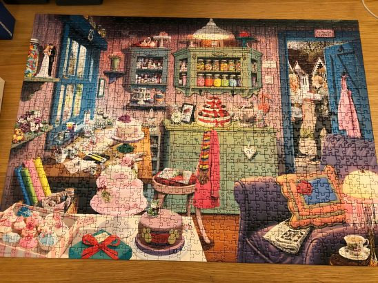 Ravensburger My Haven No. 5 The Cake Shed Puzzle Review