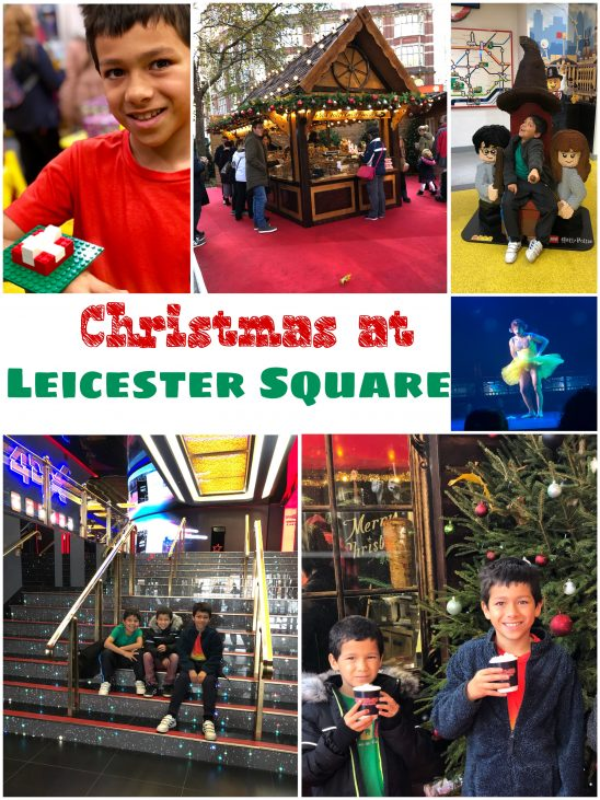 Christmas at Leicester Square