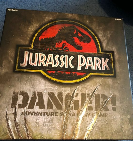 Ravensburger Jurassic Park Danger Board Game Review
