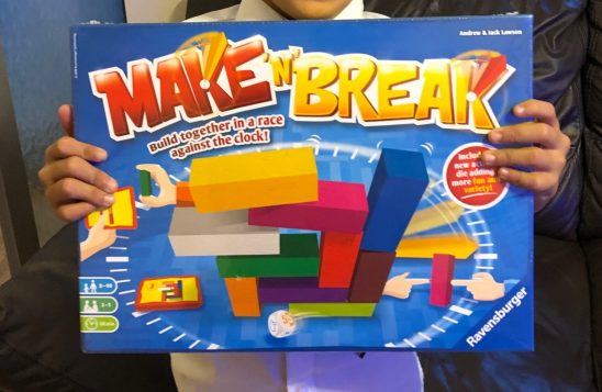 Ravensburger Make 'n' Break Game Review