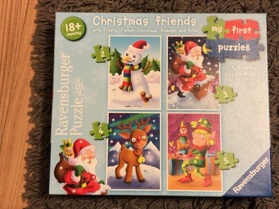 Ravensburger My First Puzzle, Christmas Friends Review