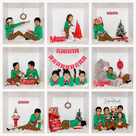 Christmas White Box Photoshoot with Gorgeous Moments Photography