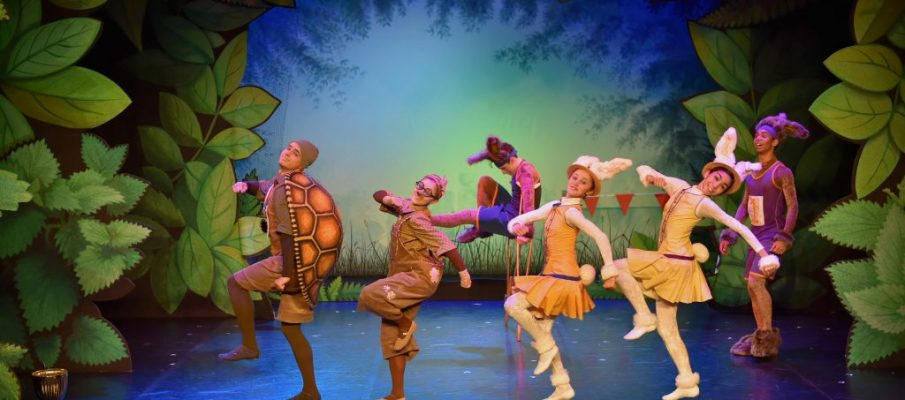 Northern Ballet in Tortoise & the Hare. Photo Brian Slater