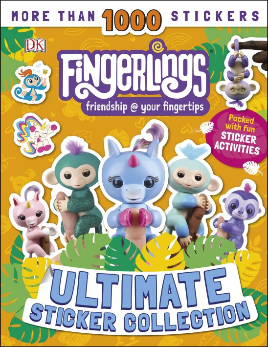 New Fingerlings Books Review & Giveaway