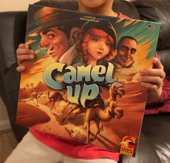 Camel Up Board Game Review