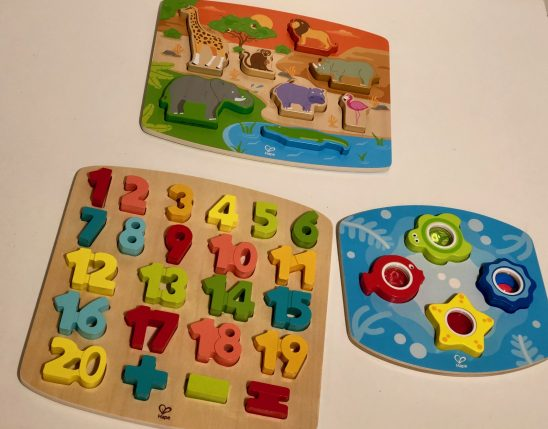 Play, Discover and Learn with Wooden Puzzles from Hape