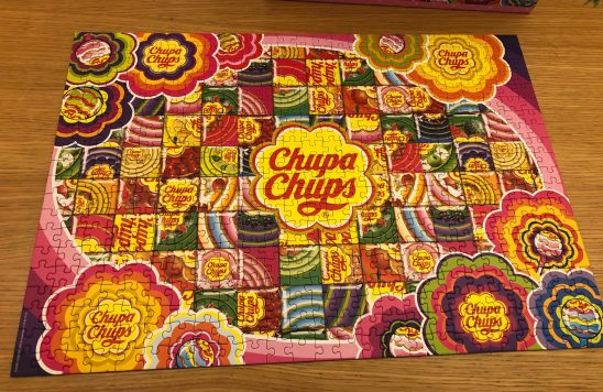 Jumbo Chupa Chups Colourful 500 Piece Puzzle