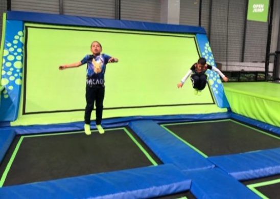 Summer at Jump In Trampoline Park