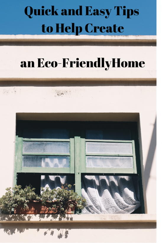 Quick and Easy Tips to Help Create an Eco-Friendly Home