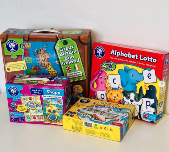 Orchard Toys Game and Puzzles Review