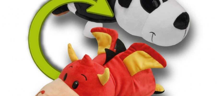 20888 Flipazoo 8 Inch Soft Toy (4 Asst) CPS2