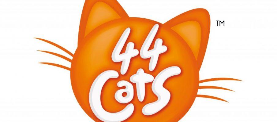 44 Cats (English) Logo to print