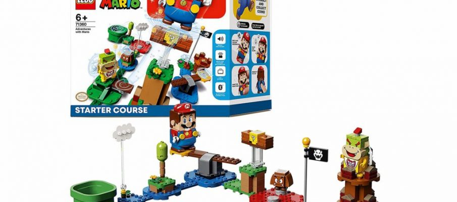 LEGO Super Mario Adventures Starter Course Toy Interactive Figure & Buildable Game, Currently priced at £49.97_lg