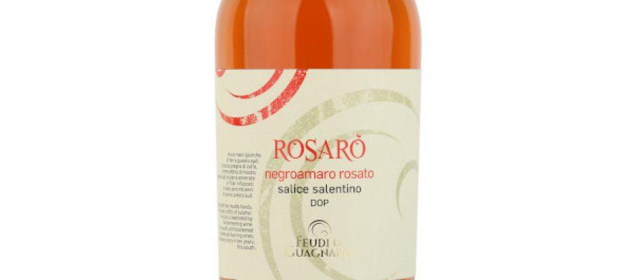 Feudi di Guagnano Rosarò Salice Salentino Negroamaro Rosato DOC 2019 600x800
